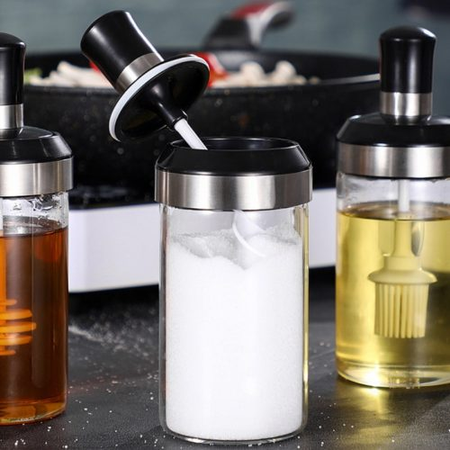 Condiment Container Reusable Spice Bottle