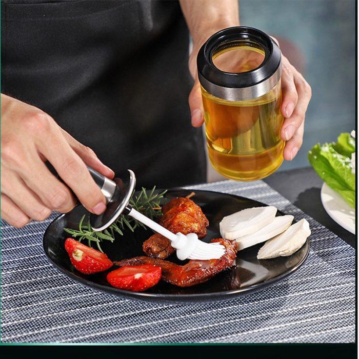 Condiment Container Reusable Spice Bottle