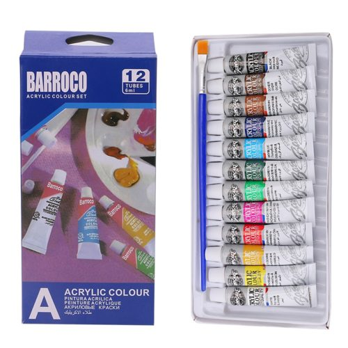 Acrylic Paint Set Art Painting (12Colors)