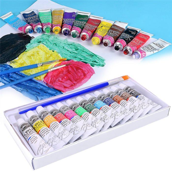 Acrylic Paint Set Art Painting (12Colors)