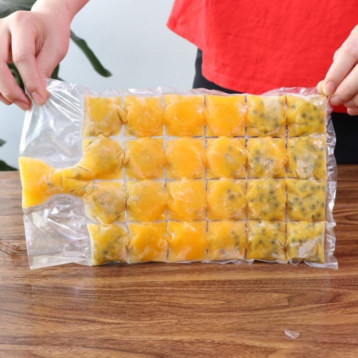 Ice Cube Bags Disposable Container 10 pcs