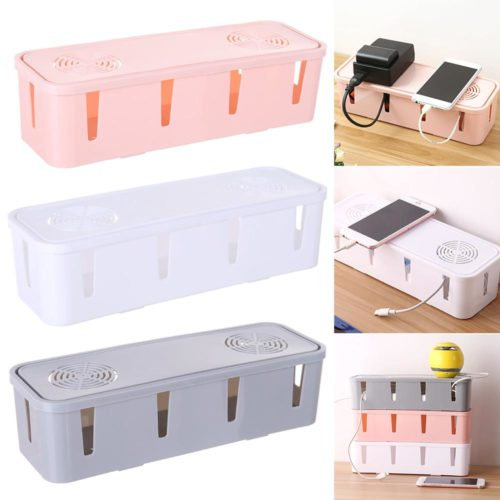 Cable Tidy Box Wire Storage