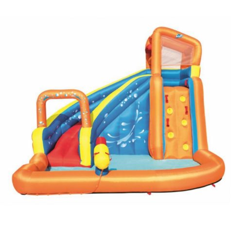 Kids Inflatable Water Slide with Water Cannon