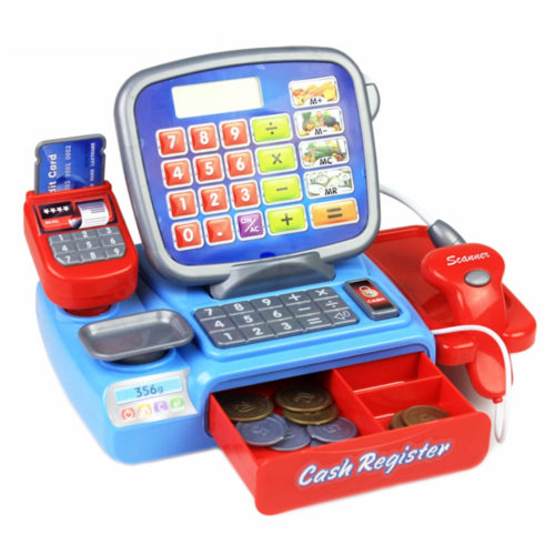 Play Cash Register Kid's Toys