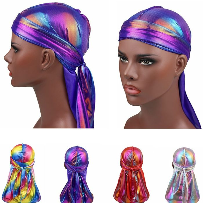 Hair Bandana Silky Turban Headwear
