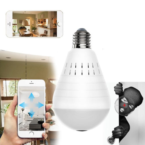 Bulb CCTV Camera LED Security Cam