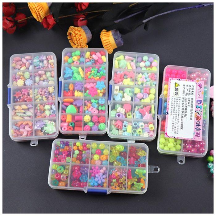 Beads Set Kids DIY Accessories
