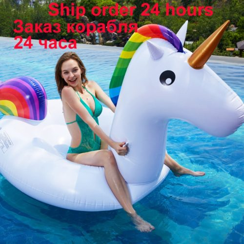 Giant Unicorn Float Inflatable Swimming Float
