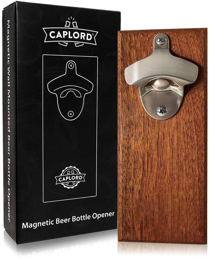 Magnetic Bottle Opener Wall Cap Catcher