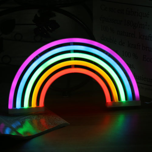 Rainbow Night Light LED Desk Lamp