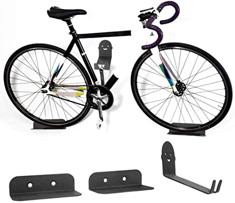 Wall Bike Rack 3PC Wall-Mount Set