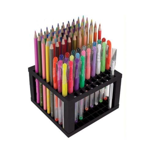 Colored Pencil Holder 96-Slot Rack
