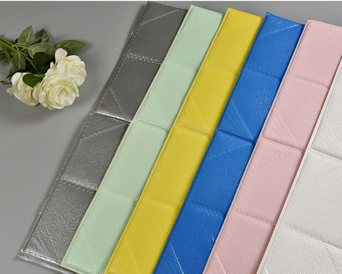 Foam Wallpaper Self-Adhesive Wall Decor
