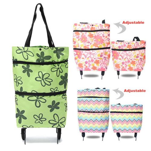 Folding Shopping Trolley Portable Cart