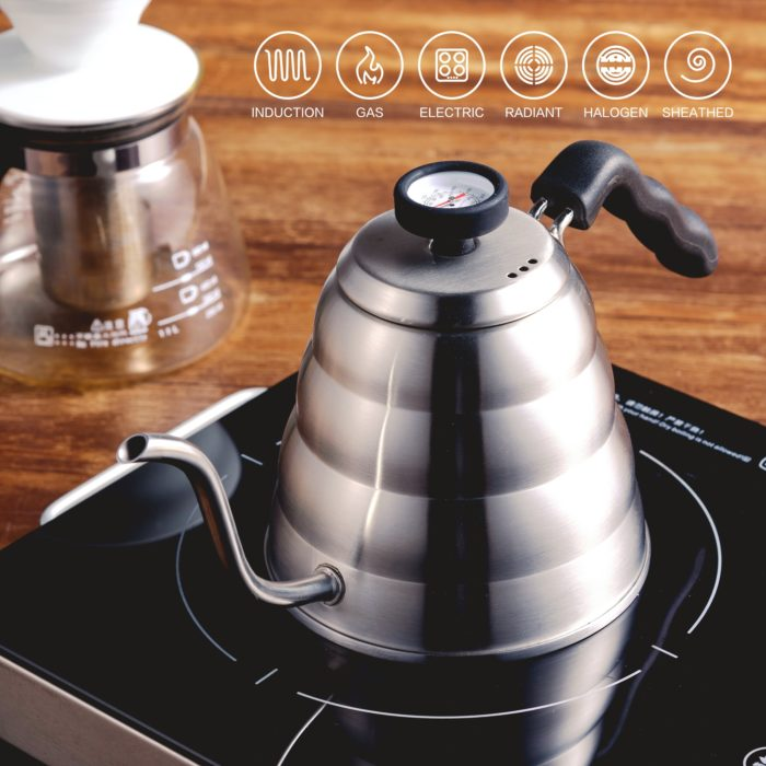 Coffee Kettle Stainless Steel Pot