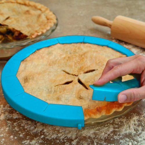 Pie Crust Shield Adjustable Size