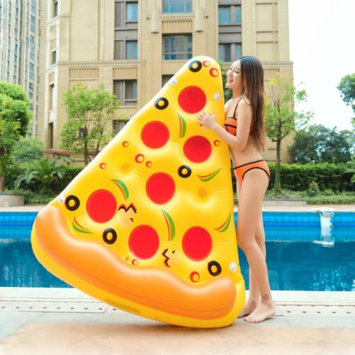 Pizza Float Inflatable Pool Bed