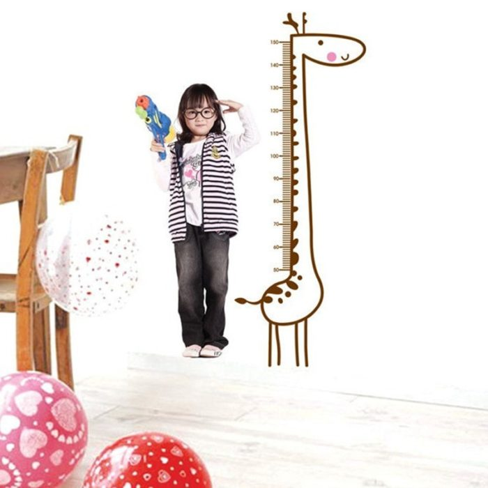 Height Ruler Self-Adhesive Wall Sticker