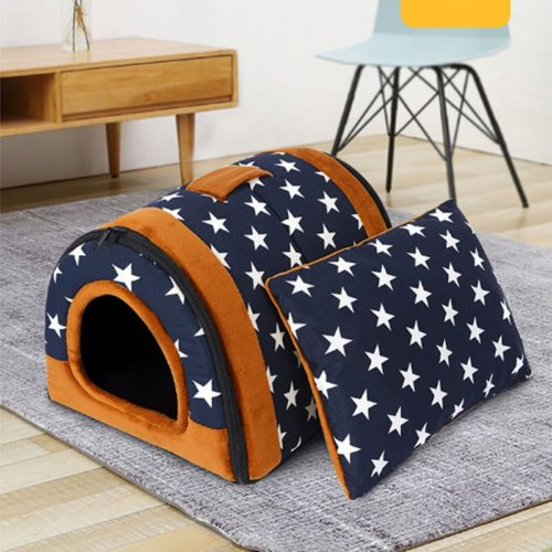Cat Tent Bed Foldable Pet House
