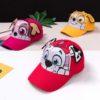 Kids Baseball Hat Dog Baseball Cap