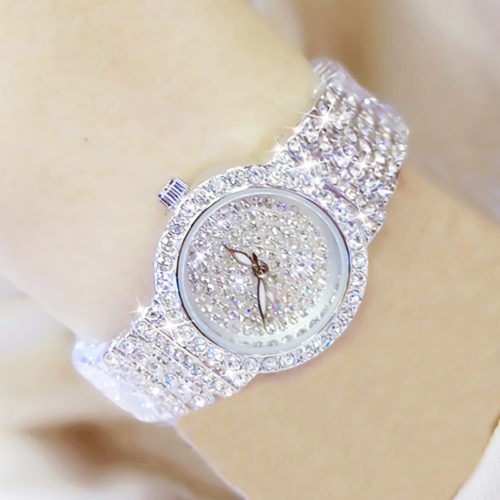 Crystal Watch Ladies Wristwatch