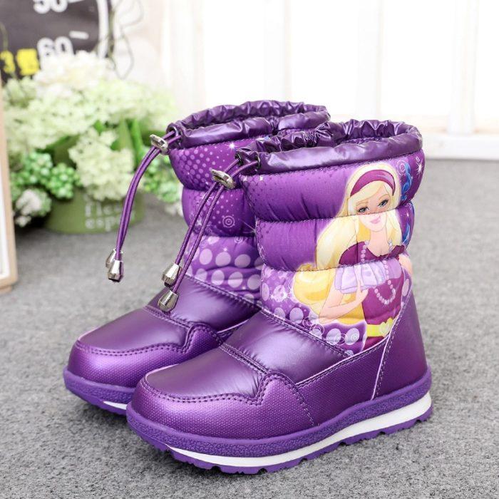 Girls Snow Boots Waterproof Footwear