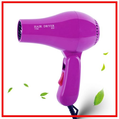 Mini Blow Dryer Foldable Hair Blower