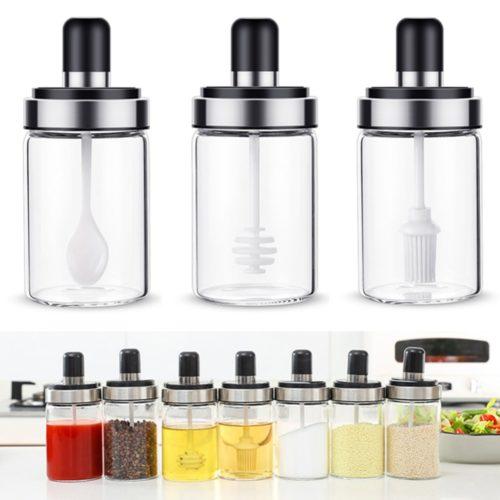 Spice Bottle Condiment Jar