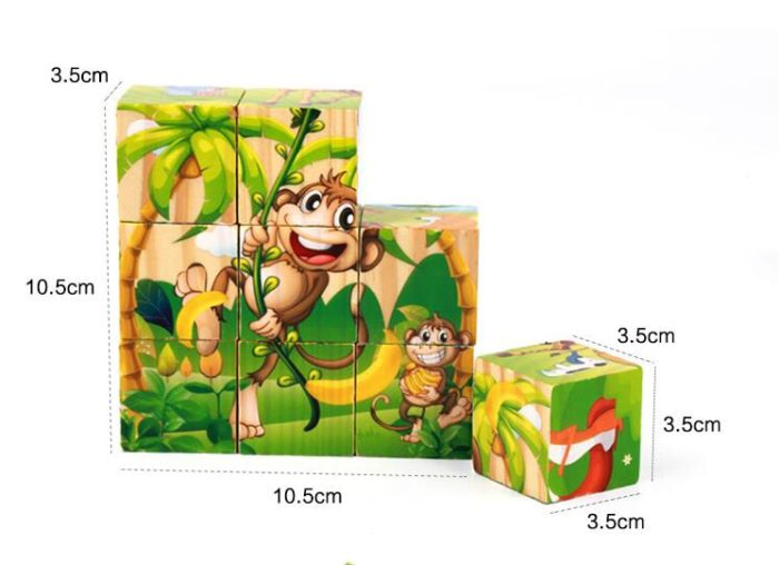 3D Puzzles for Kids Educational Toy