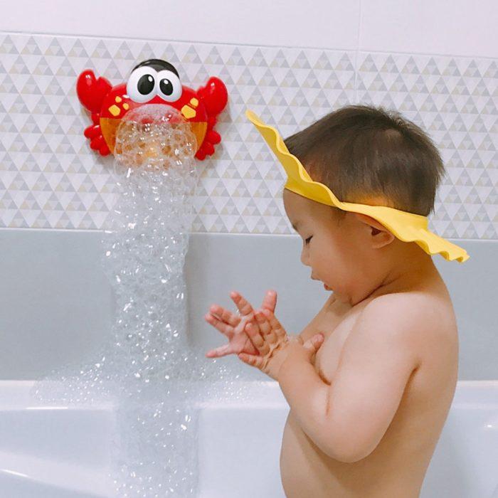 Bubble Crab Bath Time Toy