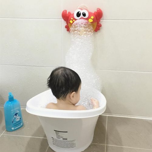 Bubble Crab Bath Time Toy