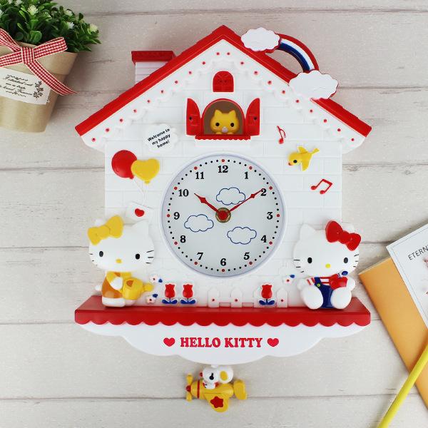 Kid's Wall Clock Cartoon Design