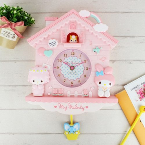 Kid's Wall Clock Cartoon Design