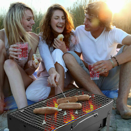 Tabletop Charcoal Grill Portable Design