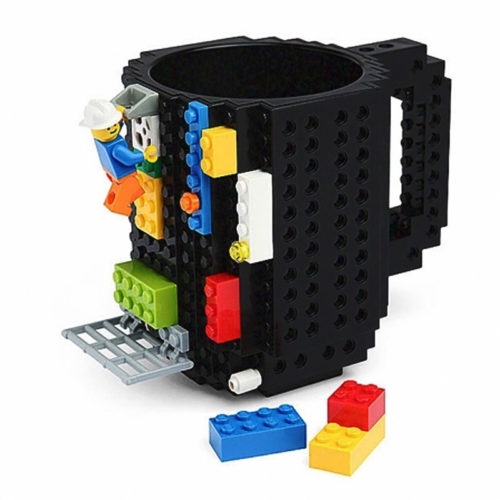 Lego Cup Build-on Brick Mug