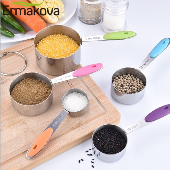 Metal Measuring Cups Spoons Set