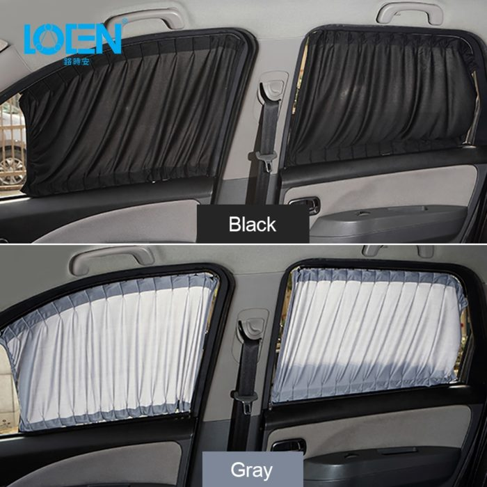 Car Window Curtains Side Window Sunshade