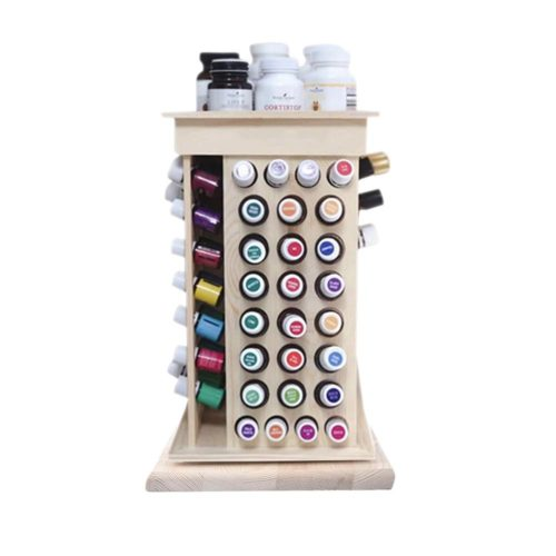 Essential Oil Holder Rotating Rack