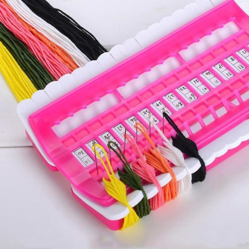 Embroidery Floss Organizer 30-Hole DIY Tool