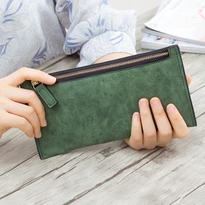 Thin Wallet for Women Slim Purse
