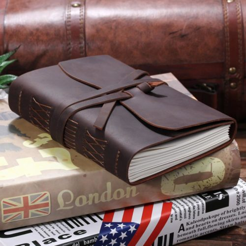 Vintage Notebook Leather Journal
