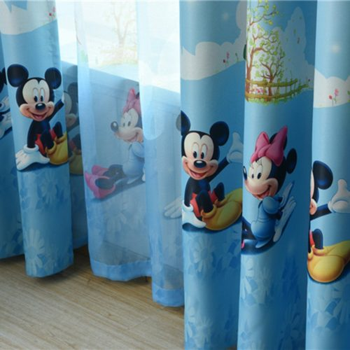 Curtain For Kids Room Cartoon Design