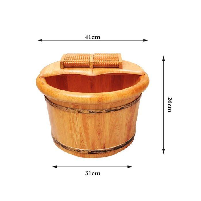 Foot Bath Bucket Wooden Pail