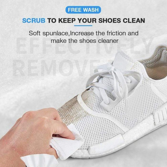 Shoe Wipes Disposable Instant Cleaner (12pcs)