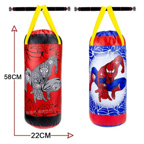 Kids Punching Bag Hanging Bag with Gloves