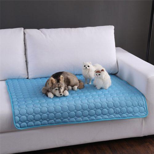 Cooling Mat Pet Sleeping Summer Bed