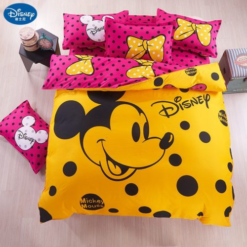 Cute Bed Set Cartoon Design