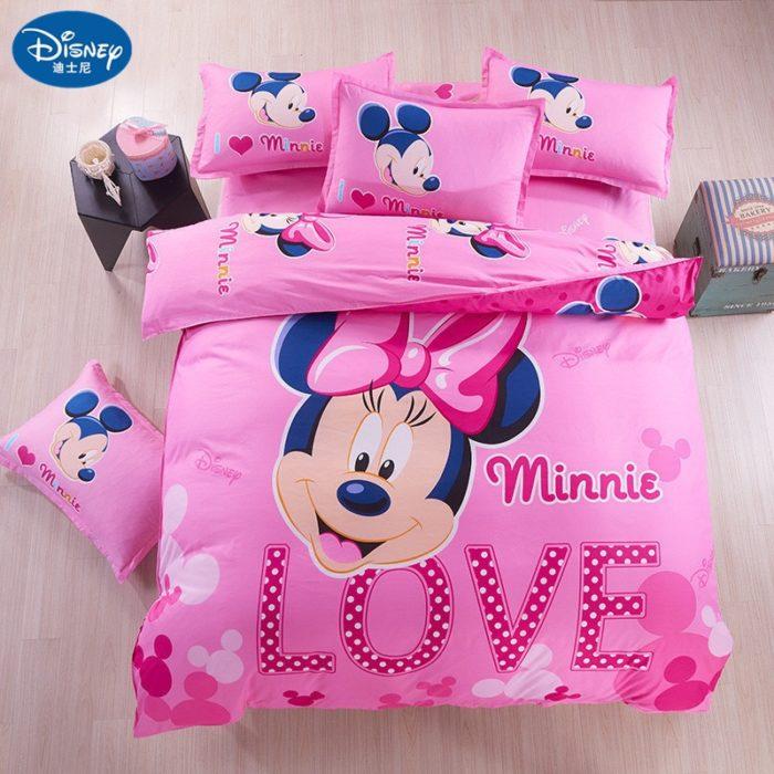 Cute Bed Set Cartoon Design