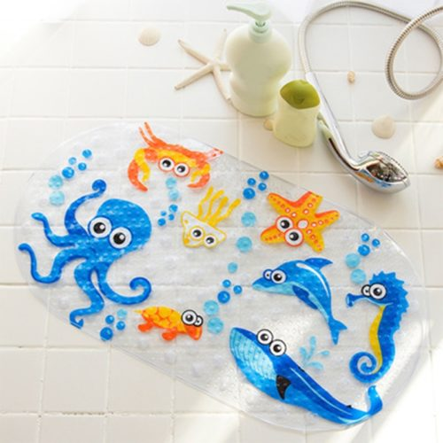 Kids Bath Mat Anti-Slip Shower Pad