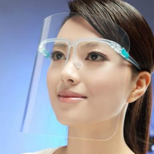 Plastic Face Shield Protective Mask